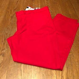 Banana Republic Sloan Fit Red Pants - 12S